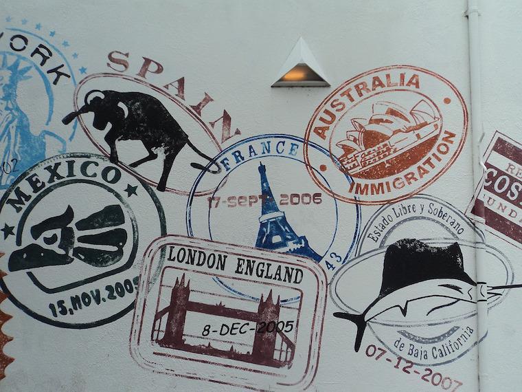 26 carimbos mais legais para ter no seu passaporte for Que es un consul
