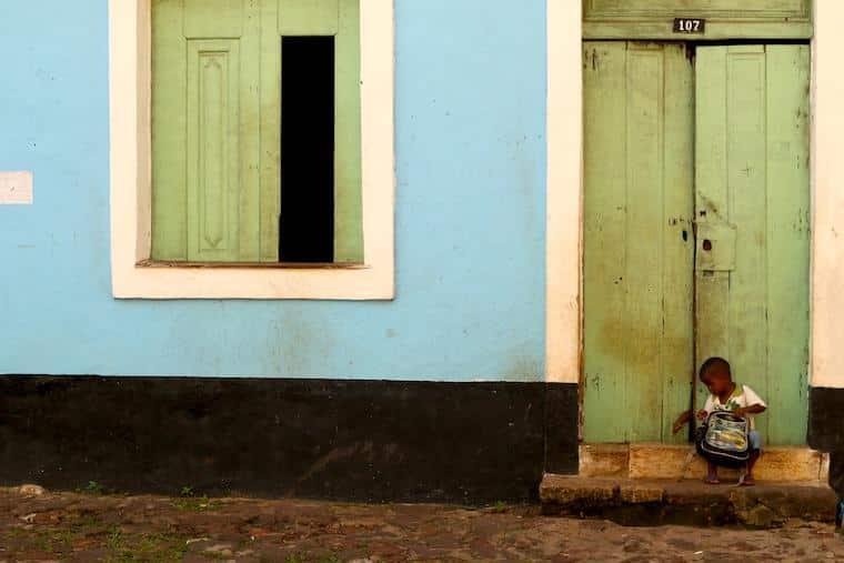 Crianças em Alcântara, Maranhão