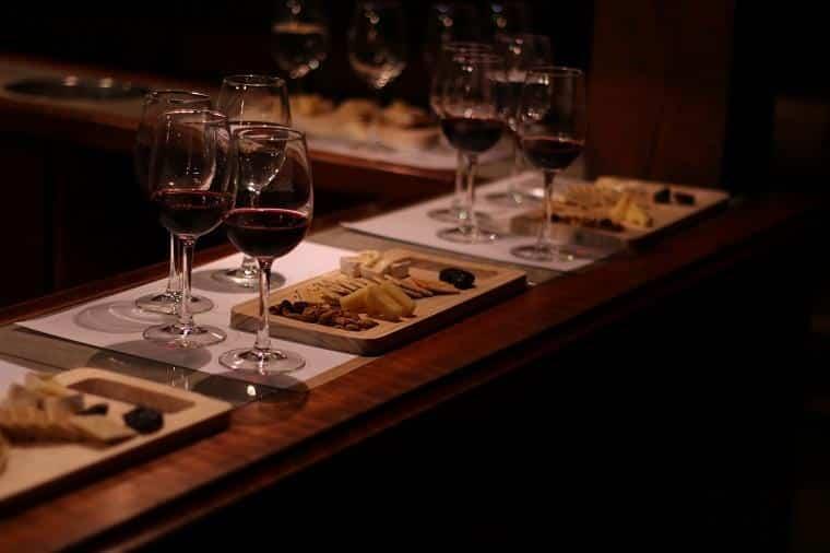 Degustação na vinícola Santa Rita