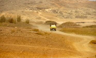 Passeio de 4×4 no deserto de Aruba