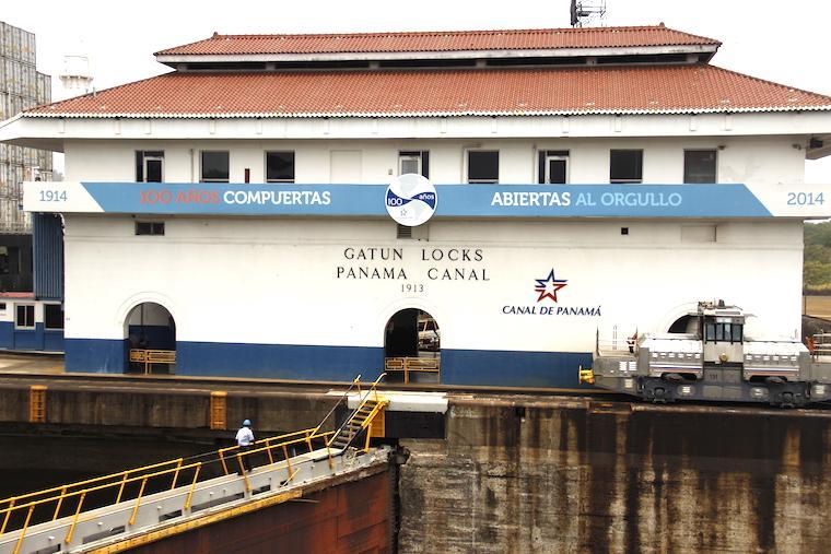 Eclusa de Gatún, Canal do Panamá