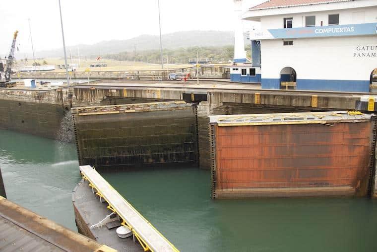 Eclusas no Canal do Panamá