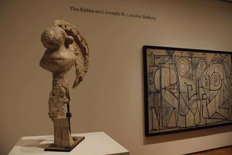 Escultura do MoMA NYC - Museu de arte moderna