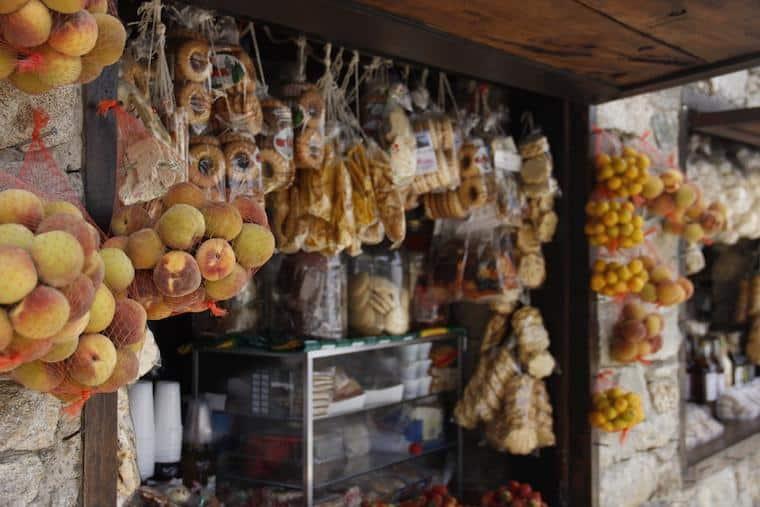 Frutas e produtos regionais da Venezuela