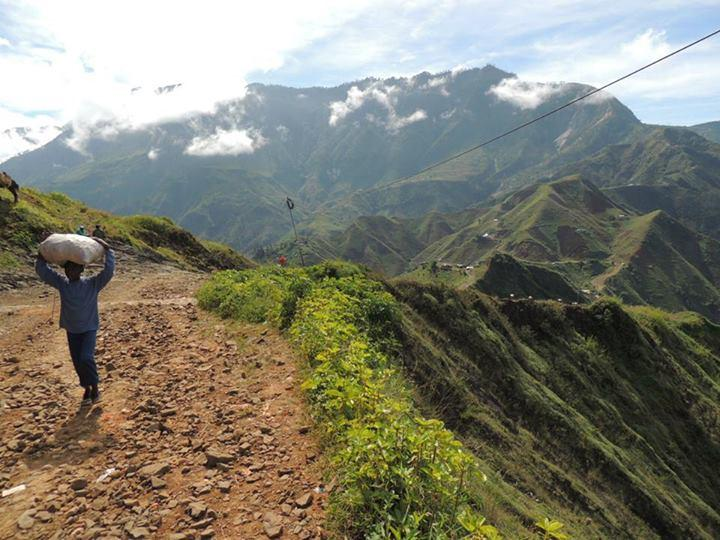 furcy, montanhas do haiti