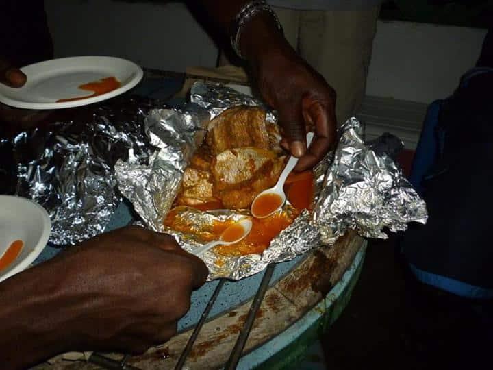 comida no Haiti