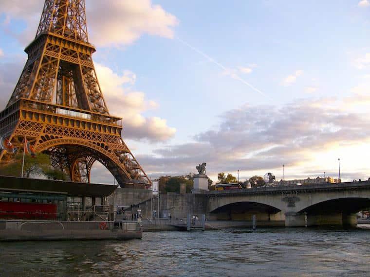 Passeio Rio Sena, Paris