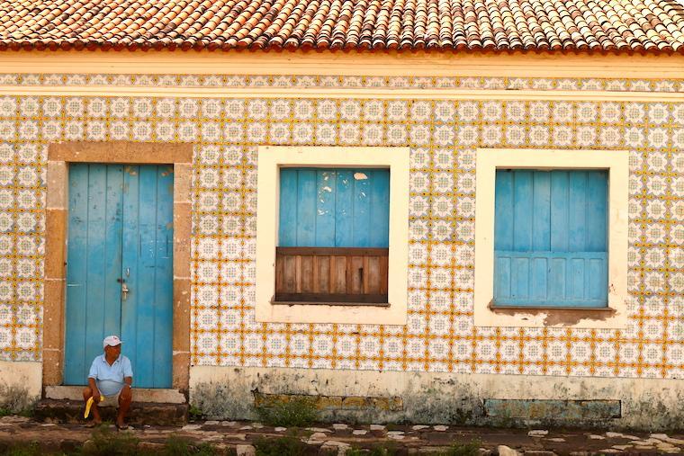 Pessoas em Alcântara, Maranhão