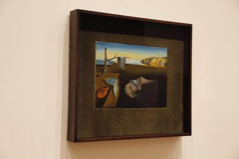 Quadro Salvado Dali - MoMA NYC