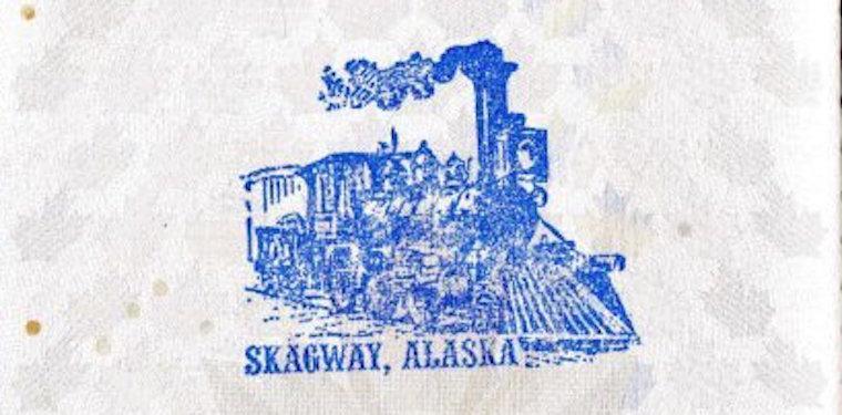 Skagway, alasca: carimbo