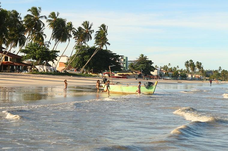 Maragogi, em Alagoas
