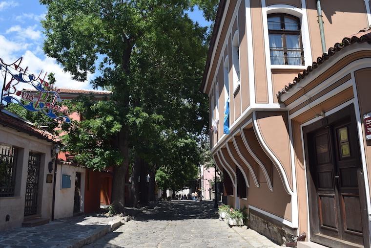 Onde ficar em Plovdiv Bulgária Old Town