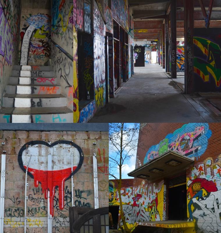 Teufelsberg Berlim Grafitti