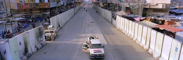 Guerra em Bagdá - Muros