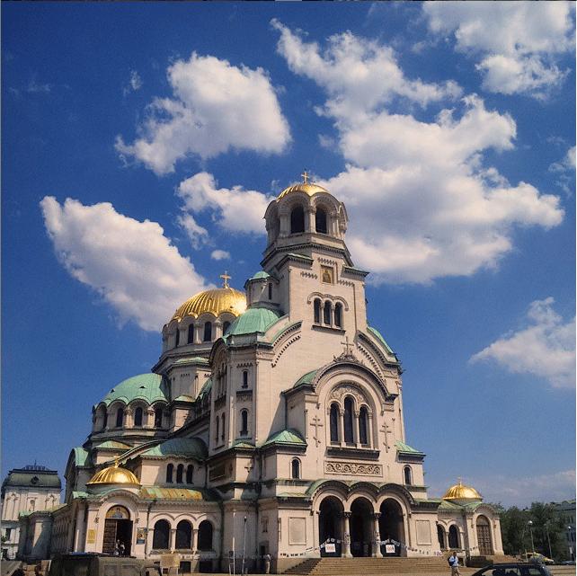 Catedral de Sofia, na bulgaria
