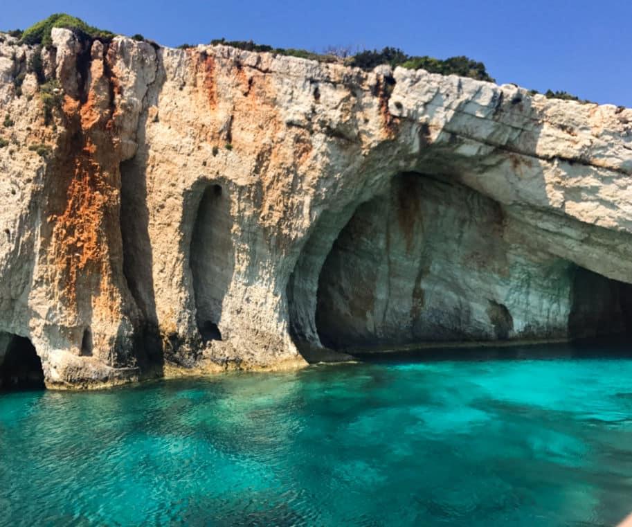 Mar em Zakhyntos Roteiro pela Grecia