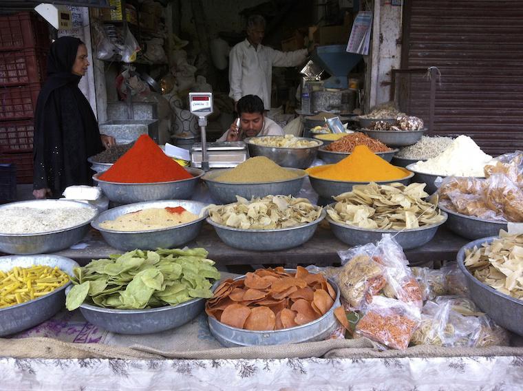 Mercado Local de Jodhpur, Índia