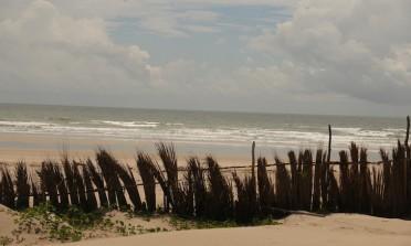 A Praia de Caburé, perto de Barreirinhas e dos Lençóis Maranhenses