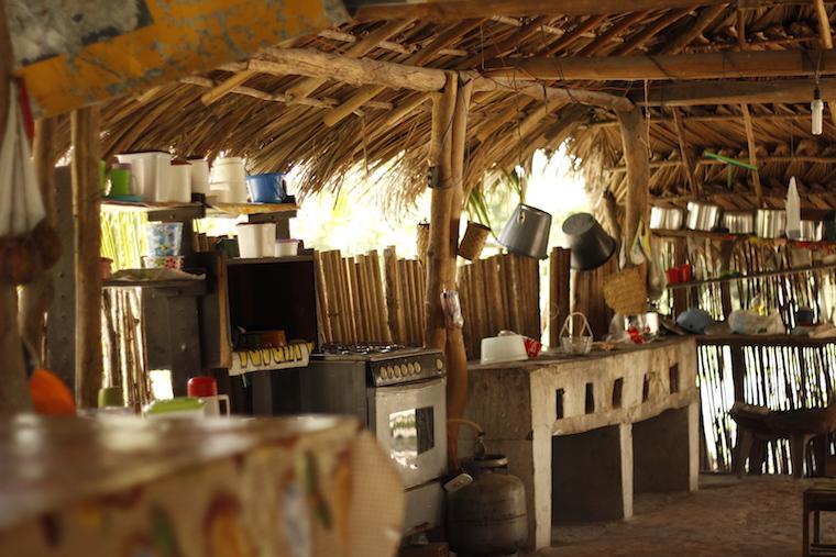 Restaurante local em Cardosa - Maranhão