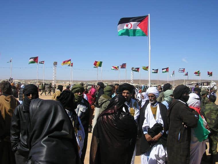 Saara Ocidental - Manifestações pela independência