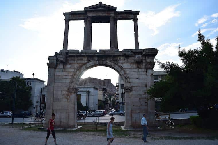 O que fazer em Atenas Grécia adriano
