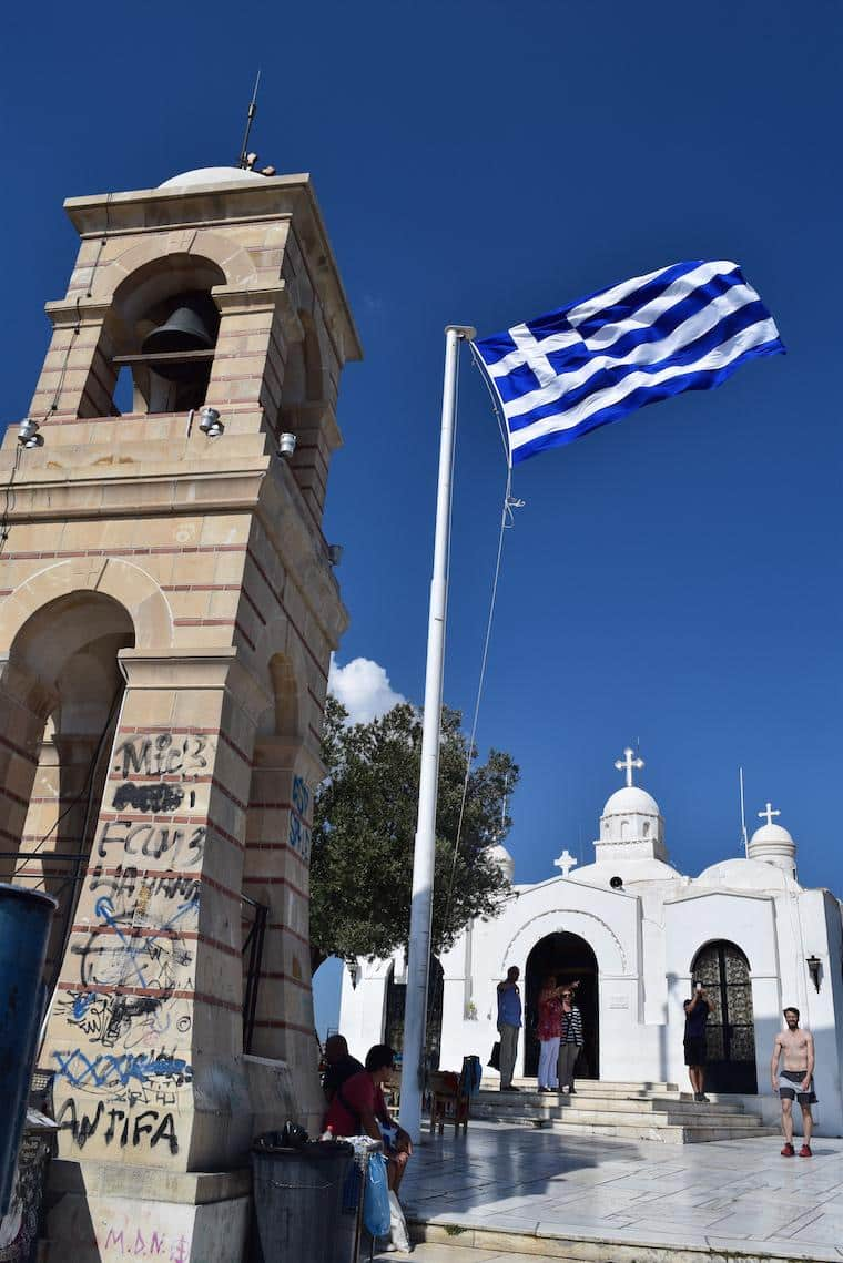 O que fazer em Atenas Grécia licabetus topo