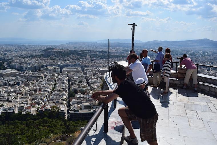 O que fazer em Atenas Grécia licabetus