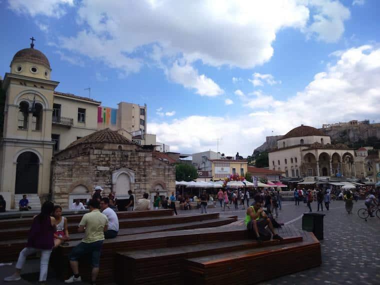 O que fazer em Atenas Grécia monastiraki