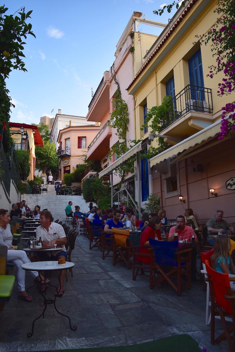 O que fazer em Atenas Grécia plaka