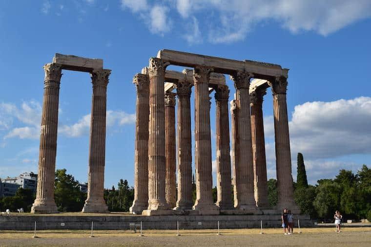 O que fazer em Atenas Grécia zeus