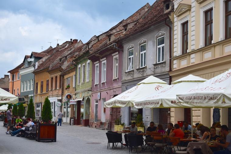 Onde ficar em Brasov Transilvania Romenia Centro Histórico