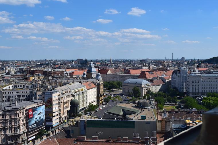 Onde ficar em Budapeste vista cidade
