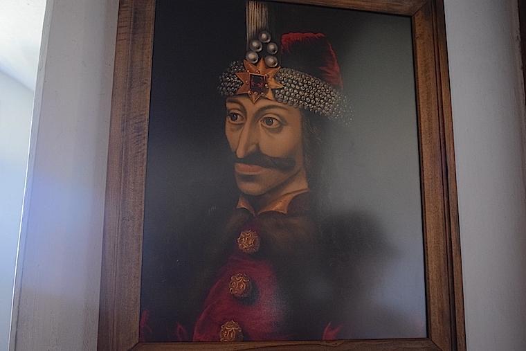 Quadro de Vlad Draculea Bran