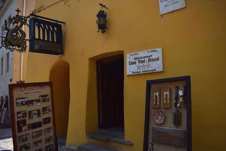 Restaurante Casa Vlad Dracul