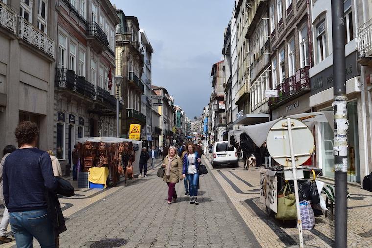 Rua santa Catarina Porto Portugal