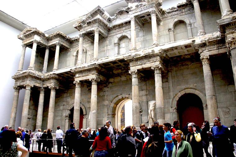 Porta do Mercado de Mileto - Museu Pergamon