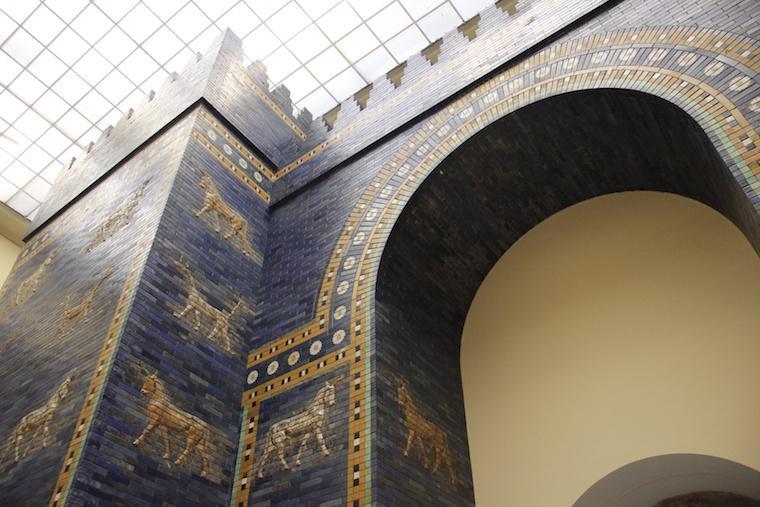 Portão da Babilônia - Museu Pergamon Berlim