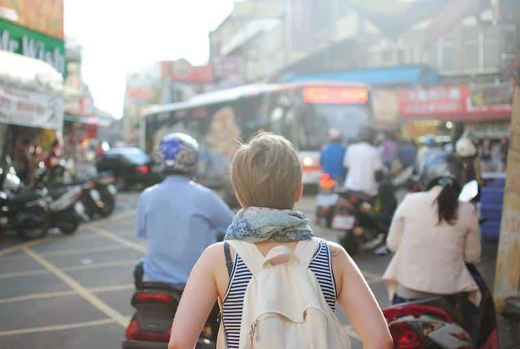 Intercâmbio, viagem, mochilão