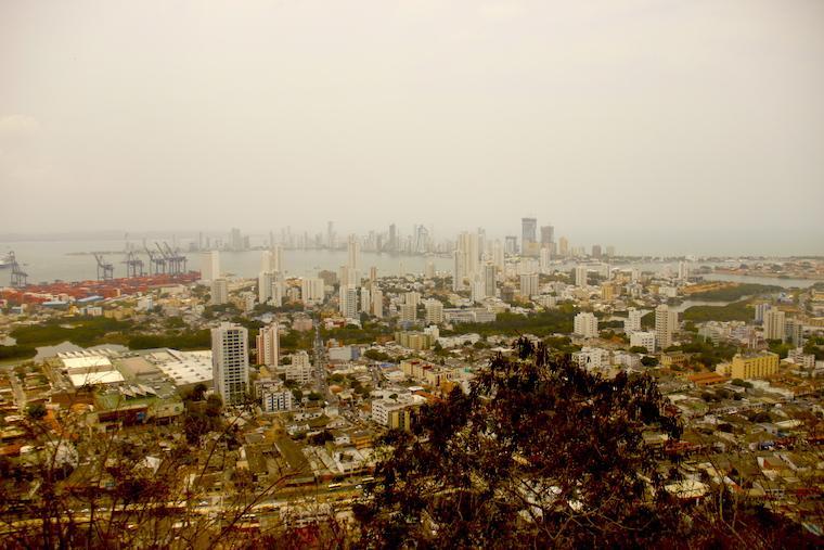 Vista do Cerro de la Popa - Cartagena das Índias