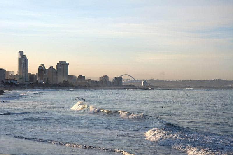 Durban, Árica do Sul: uma das paradas finais do Baz Bus