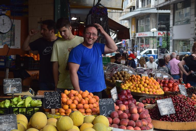 Tessalônica Grécia mercado