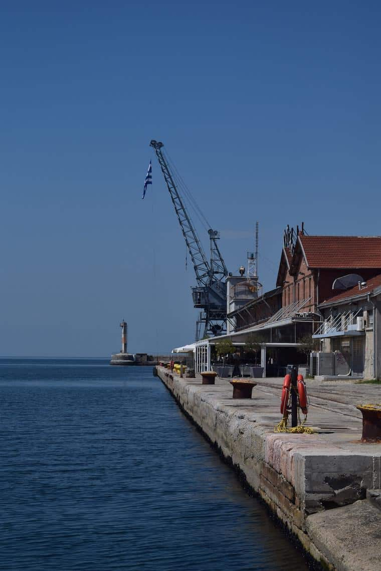Tessalônica Grécia porto