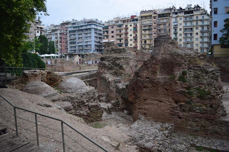 Tessalônica Grécia ruinas galerio