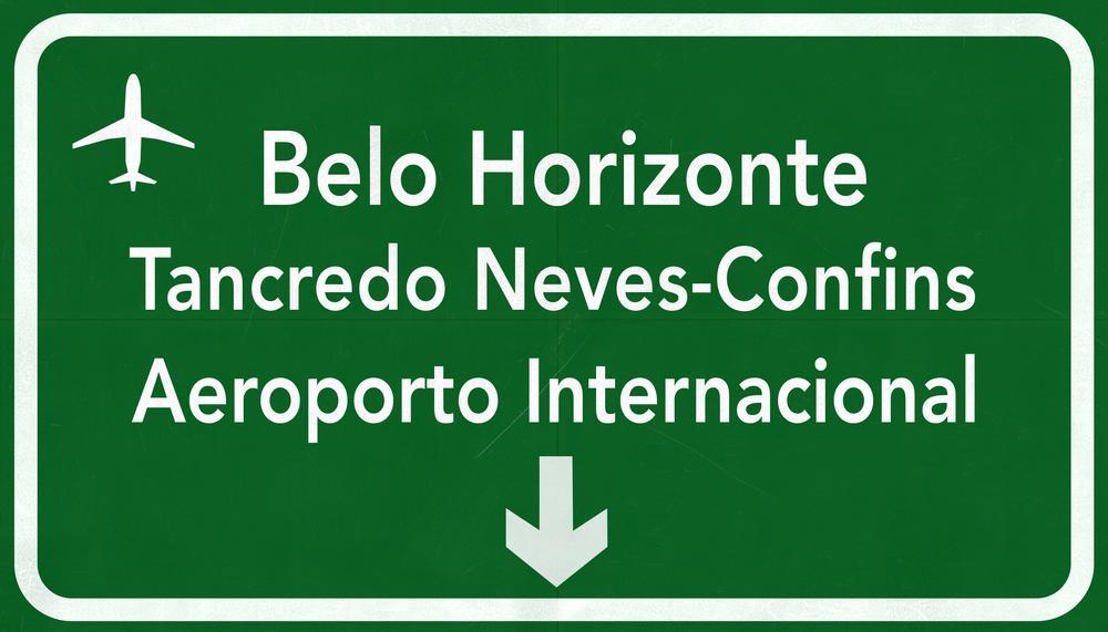 Aeroporto de Confins - Belo Horizonte