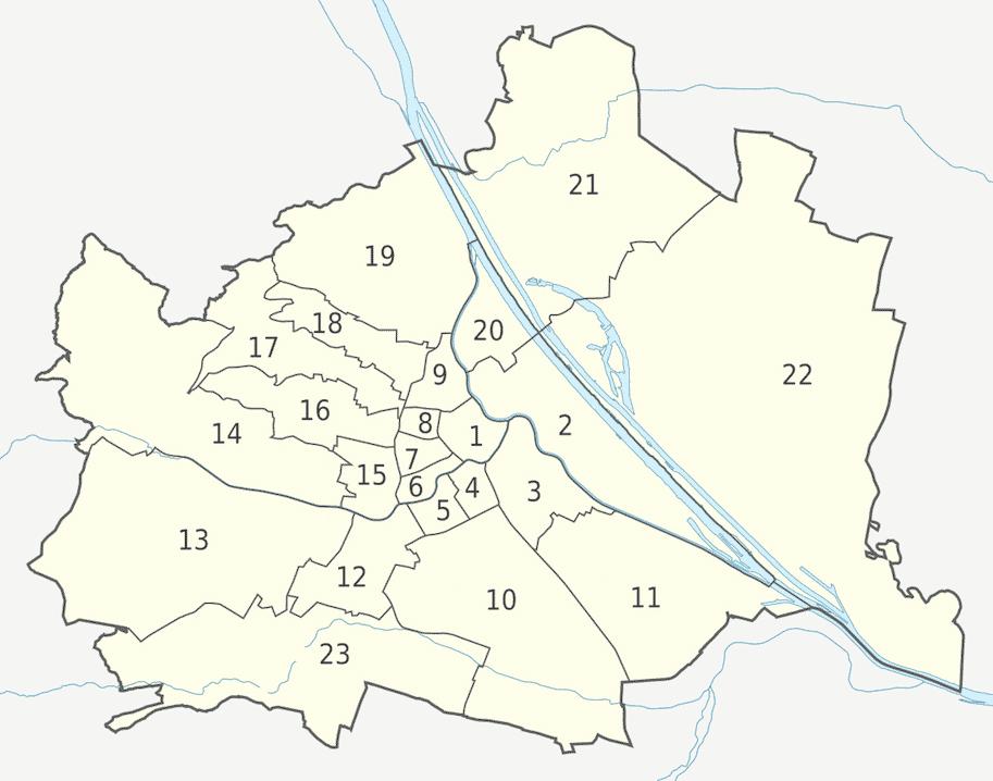 viena distritos