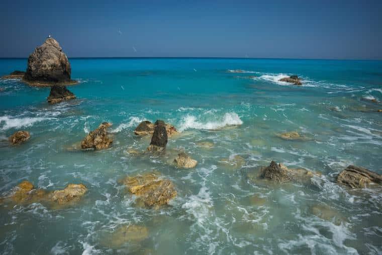 Kalamitsi praia na grécia