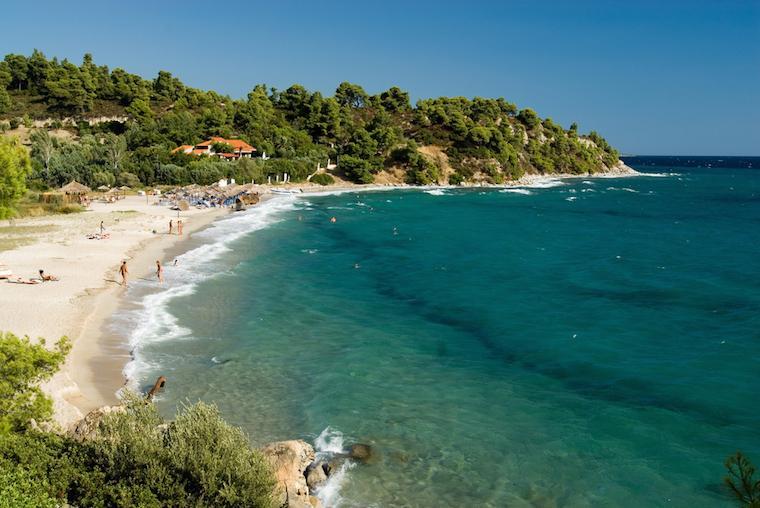 Koviou Beach praias grécia