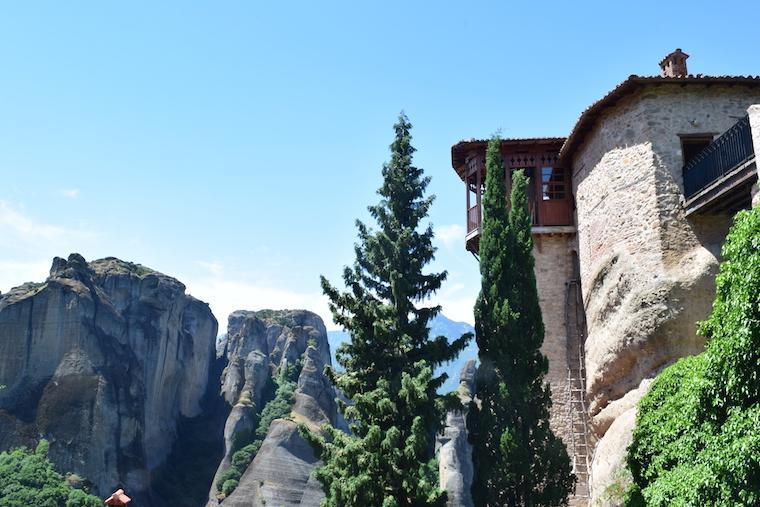 Mosteiros de Meteora St. Barbara