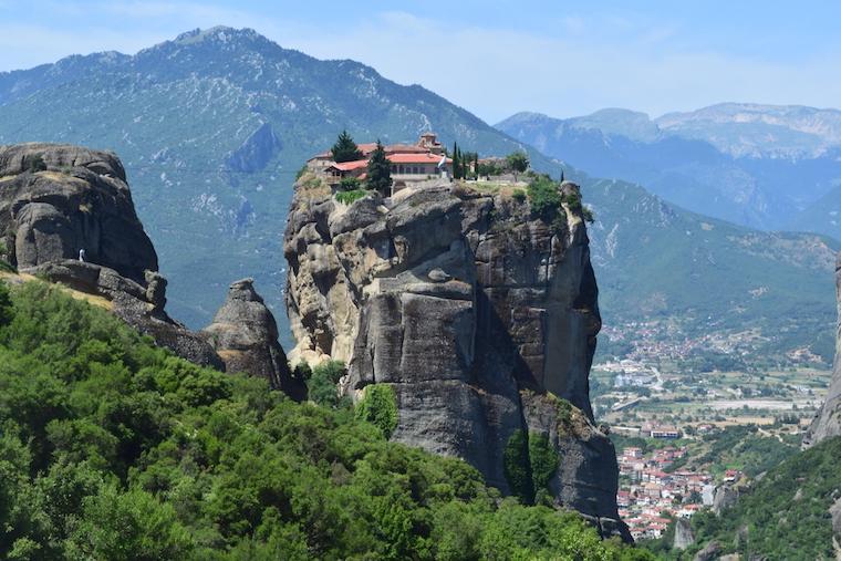 Mosteiros de Meteora holy trinity