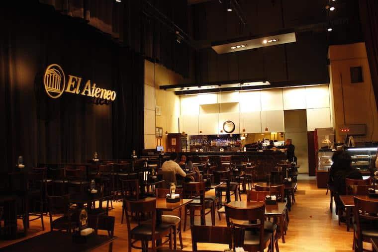 Café da Livraria Ateneo Grand Splendid - Buenos Aires